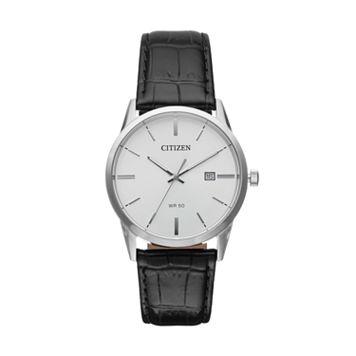 Citizen Men's Leather Watch - BI5000-01A