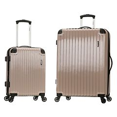 Rockland Santorini 2 pc Hardside Spinner Luggage Set