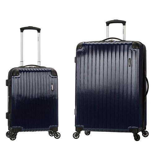 Rockland Santorini 2-Piece Hardside Spinner Luggage Set