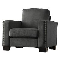 HomeVance Caldwell Nailhead Arm Chair