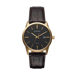 Citizen Men's Leather Watch - BI5002-06E