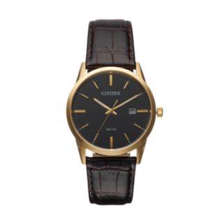 Citizen Men's Leather Watch - BI5002-06E