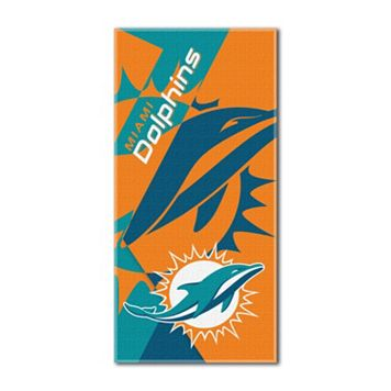 Miami Dolphins Puzzle Oversize Beach Towel by Northwest