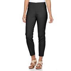 Women's Croft & Barrow® Slim Ankle Pants