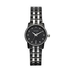Citizen Women's Crystal Two Tone Stainless Steel Watch - EU6037-57E