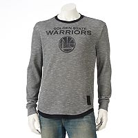 Men's Golden State Warriors Inbound Marled Thermal Tee