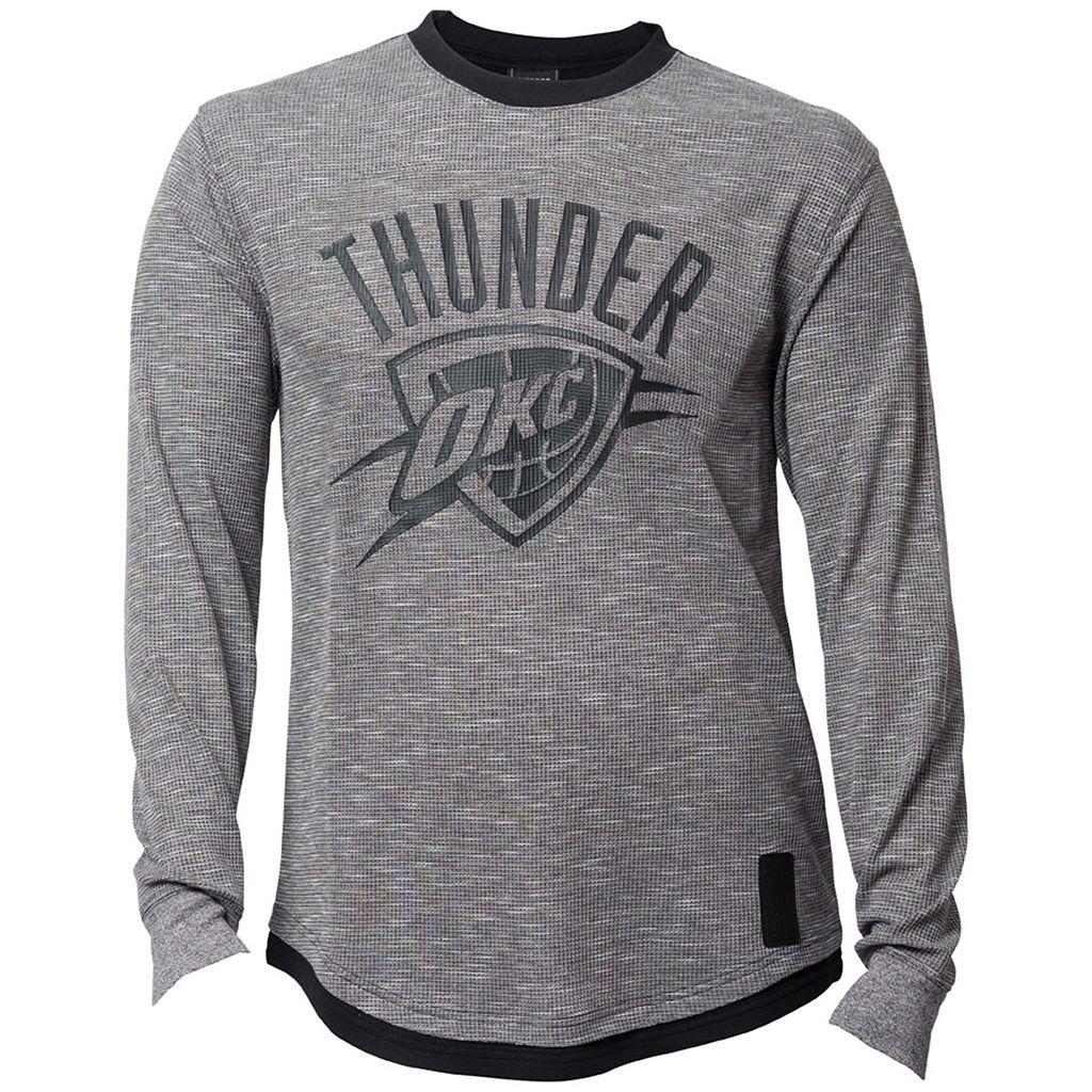 Men's Oklahoma City Thunder Inbound Marled Thermal Tee