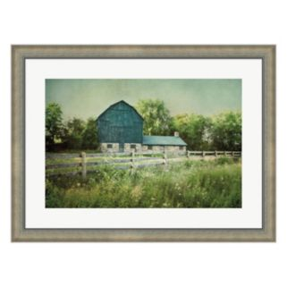 Metaverse Art Blissful Country III Framed Wall Art