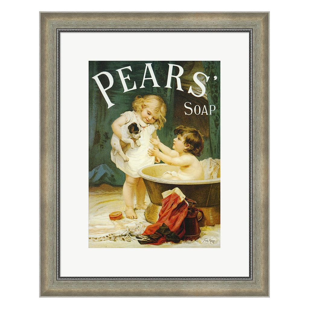 Metaverse Art Pears II Framed Wall Art