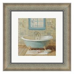 Metaverse Art Victorian Bath I Framed Wall Art