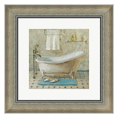Metaverse Art Victorian Bath III Framed Wall Art