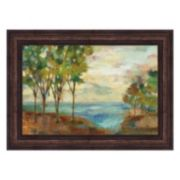 Metaverse Art View Of The Lake Framed Wall Art