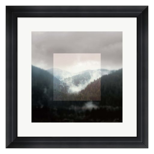 Metaverse Art Landscape I Framed Wall Art