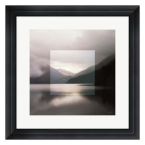 Metaverse Art Landscape II Framed Wall Art