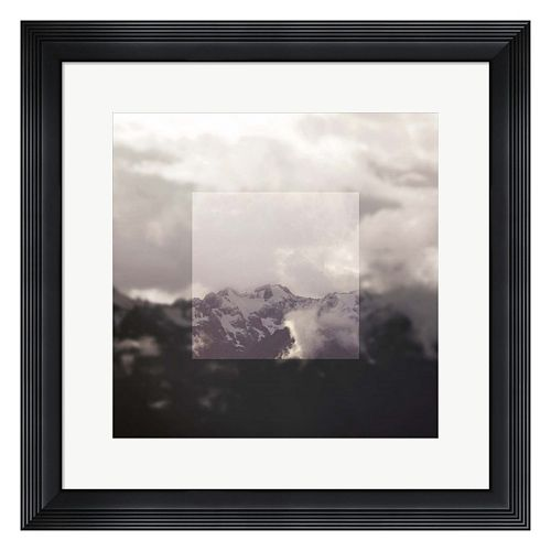 Metaverse Art Landscape IV Framed Wall Art