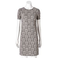 Women's Suite 7 Scroll Shift Dress
