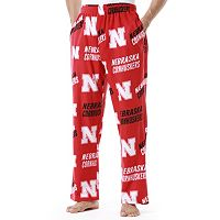 Men's Nebraska Cornhuskers Wildcard Fleece Lounge Pants