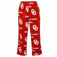 Men's College Concepts Oklahoma Sooners Wildcard Fleece Pants
