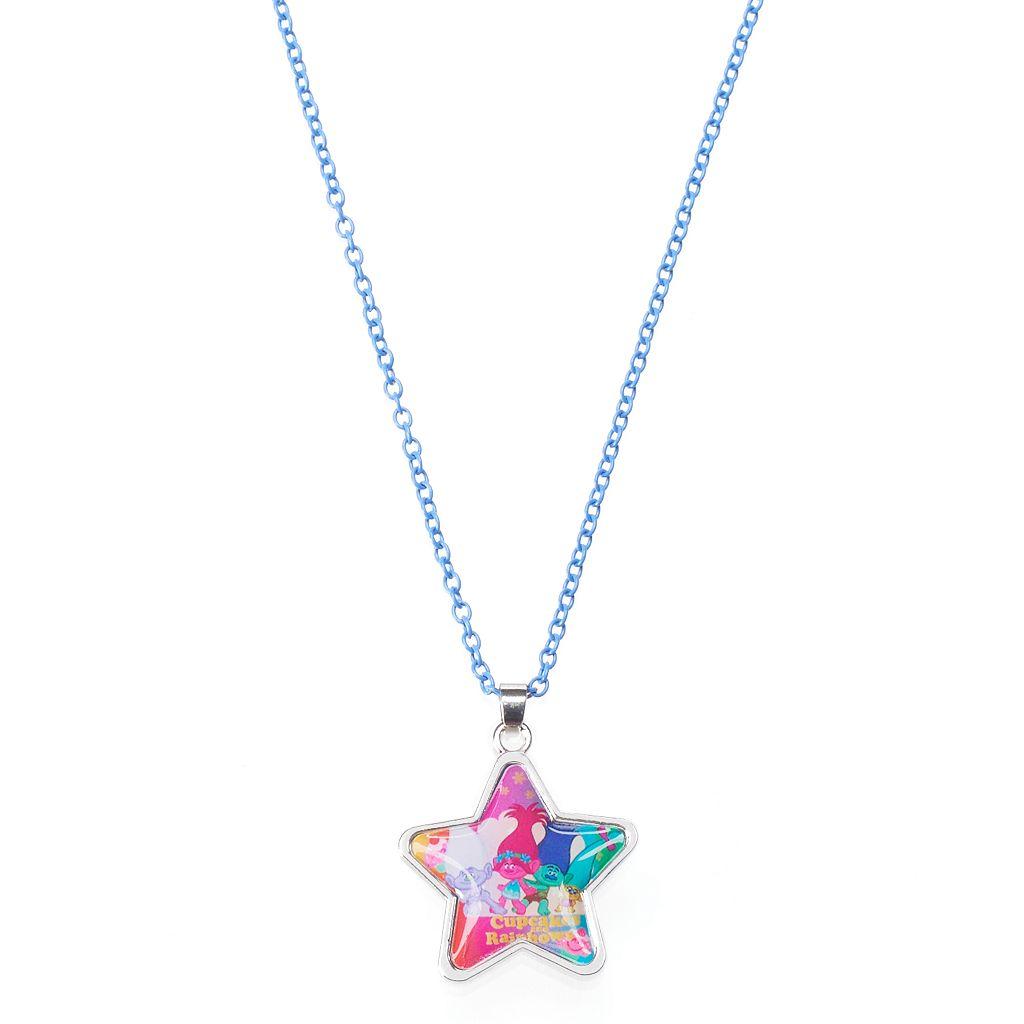 Girls 4-16 DreamWorks Trolls Guy Diamond, Poppy, Branch & Smidge Star Necklace