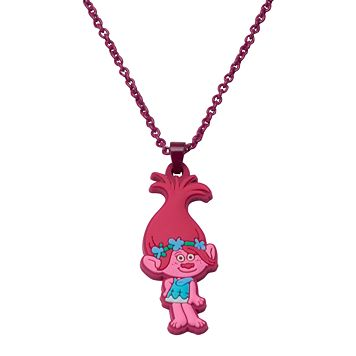 Girls 4-16 DreamWorks Trolls Poppy Pendant Necklace