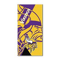 Minnesota Vikings Puzzle Oversize Beach Towel by Northwest
