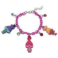 Girls 4-16 DreamWorks Trolls Poppy & DJ Suki Charm Bracelet