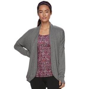 Women's Gaiam Grace Yoga Wrap Cardigan