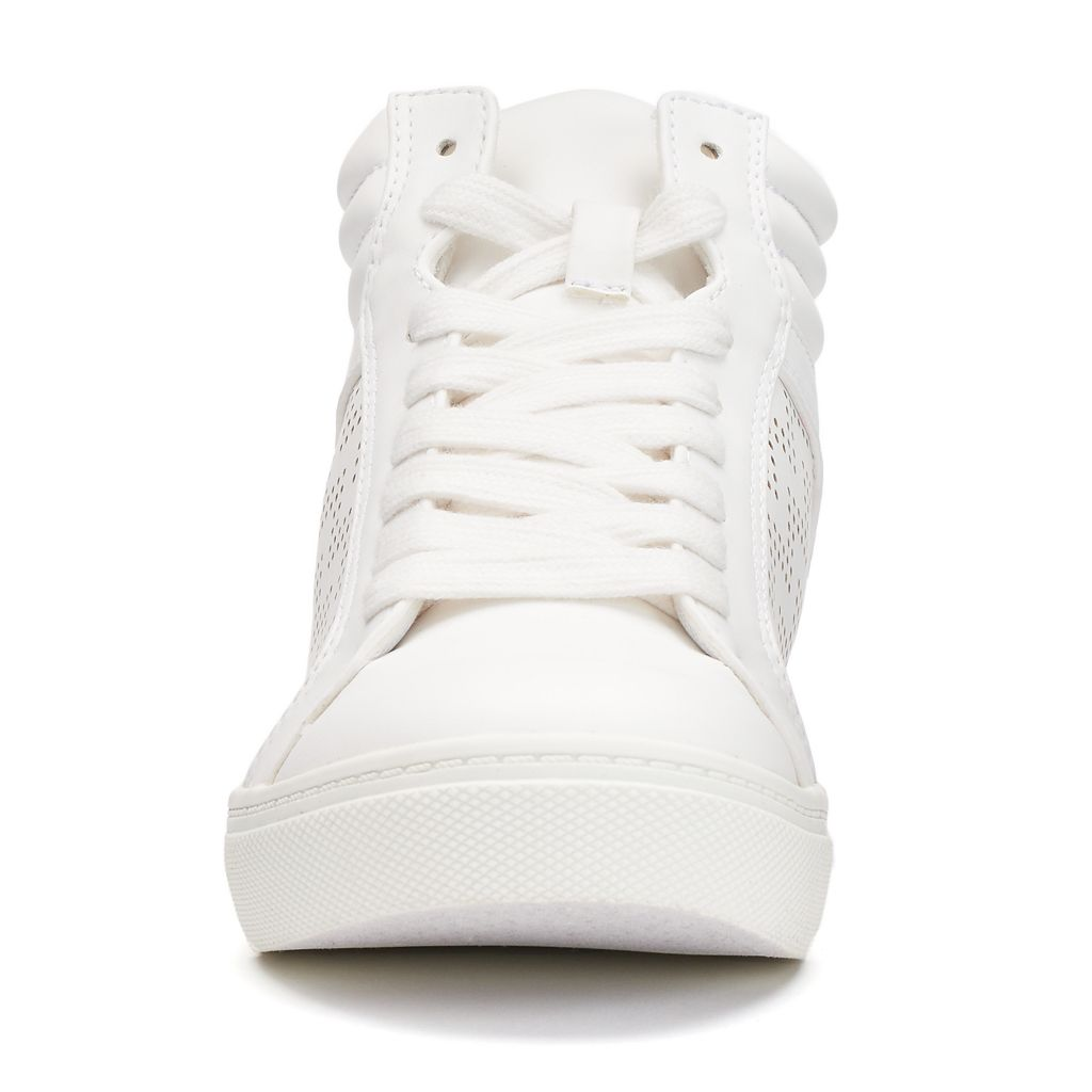 SO® Women's Perforated High-Top Sneakers