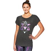 Women's Gaiam Intention Graphic-Print Yoga Tee