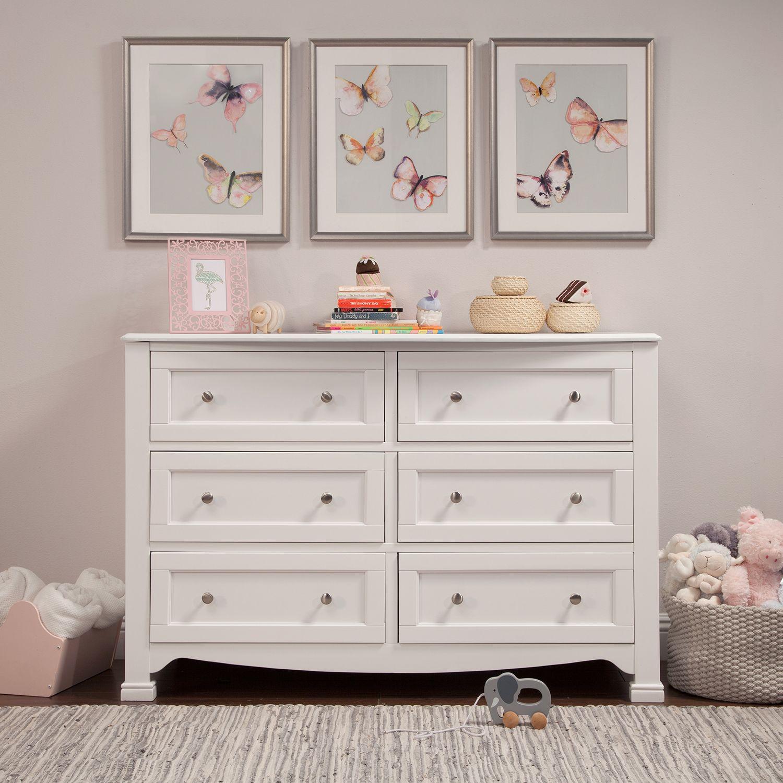 DaVinci Emily/Kalani 6 Drawer Double Dresser