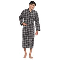 Men's Residence Fancy Terry Velour Robe