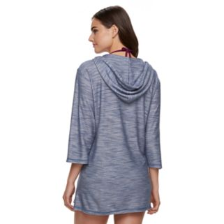 Women's Portocruz Hooded French Terry Cover-Up
