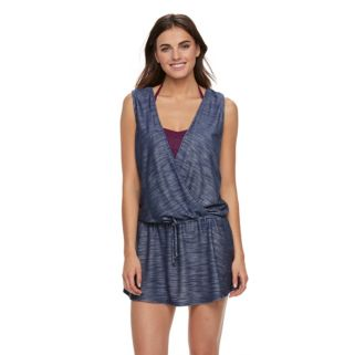 Women's Portocruz French Terry Faux-Frap Cover-Up