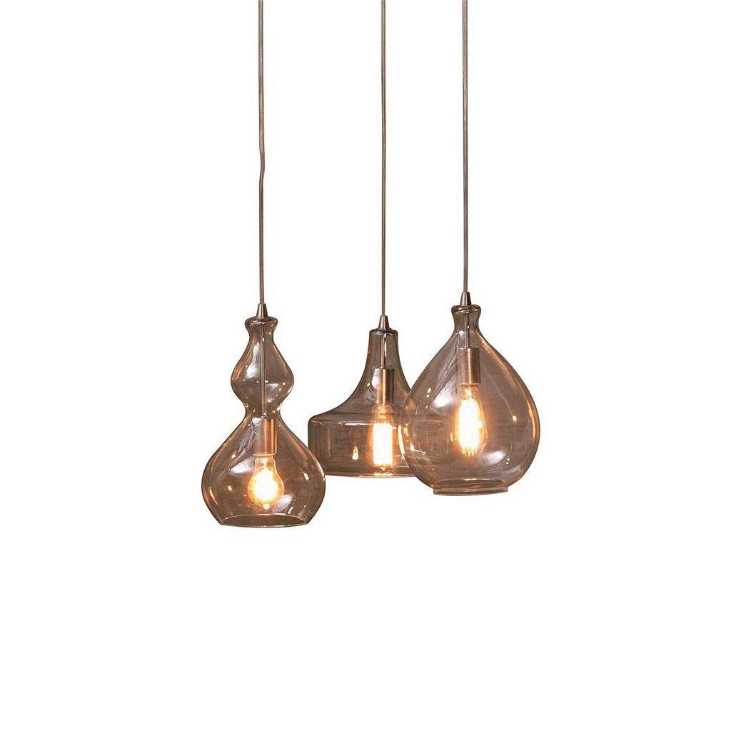 INK + IVY Firenze Glass Bulb Chandelier