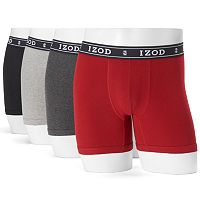 Men's IZOD 4-pack Boxer Briefs