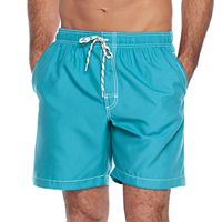 Men's Croft & Barrow® Solid Microfiber Swim Trunks