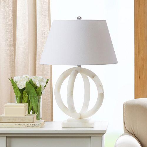 Madison Park Cerc Alabaster Table Lamp