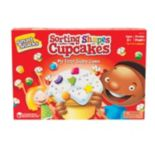 Learning Resources Smart Snacks Sorting Shapes Cupcakes Game