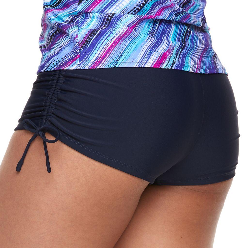 Women's ZeroXposur Drawstring Ruched Swim Shorts