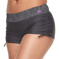 Women's ZeroXposur Drawstring Ruched Swim Shorts