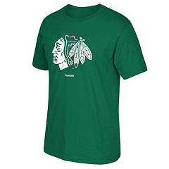 Men's Reebok Chicago Blackhawks Saint Patrick's Day Tee