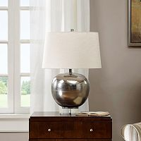 Madison Park Rondure Mirrored Table Lamp