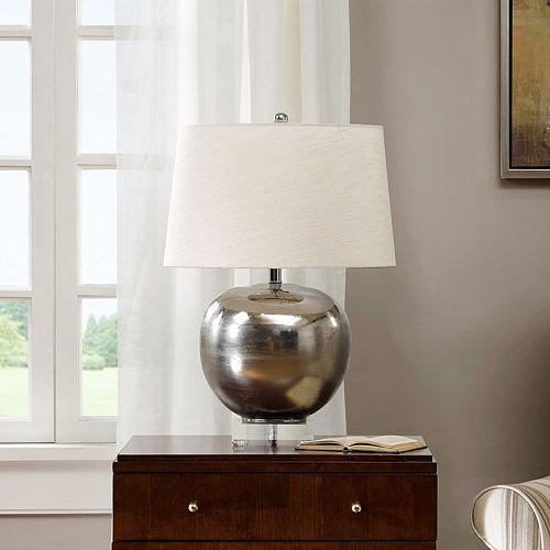Madison Park Rondure Mirrored Table Lamp