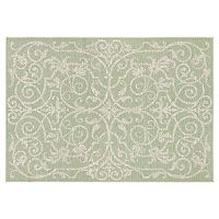 Couristan Monaco Summer Quay Floral Indoor Outdoor Rug