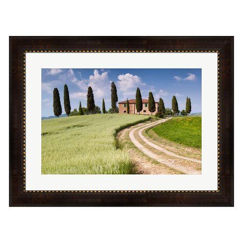 Metaverse Art Tuscan Classic Framed Wall Art