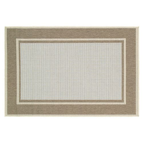 Couristan Monaco Maritime Framed Indoor Outdoor Rug