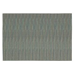 Couristan Monaco Larvotto Striped Indoor Outdoor Rug