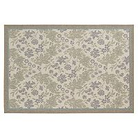 Couristan Monaco Palermo Floral Indoor Outdoor Rug