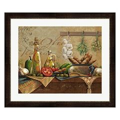 Metaverse Art Olio d'Olivo Framed Wall Art