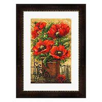 Metaverse Art Tuscan Bouquet I Framed Wall Art